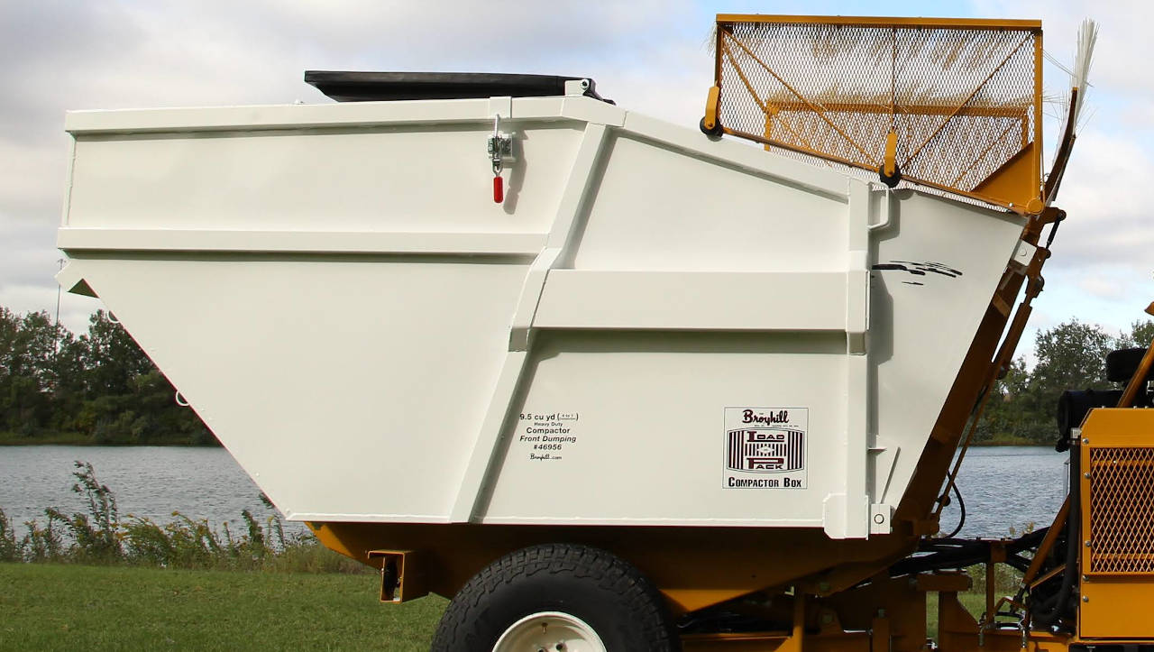 Broyhill Front-Dumping Compacting Refuse Container