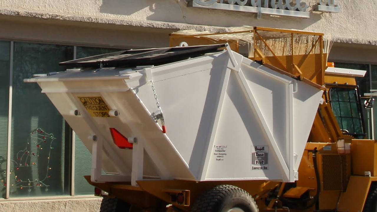 Broyhill Rear-Dumping Compacting Refuse Container